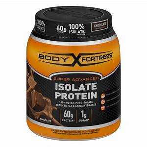 Body Fortress Super Advanced Whey Protein Powder  Chocolate  60g Protein  1 5 Lb