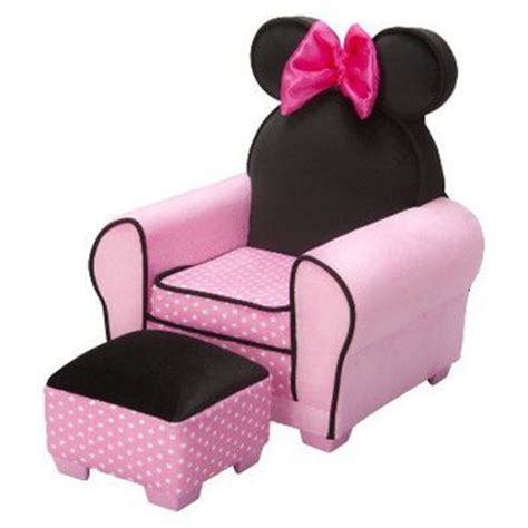 disney minnie mouse chair ottoman from target
