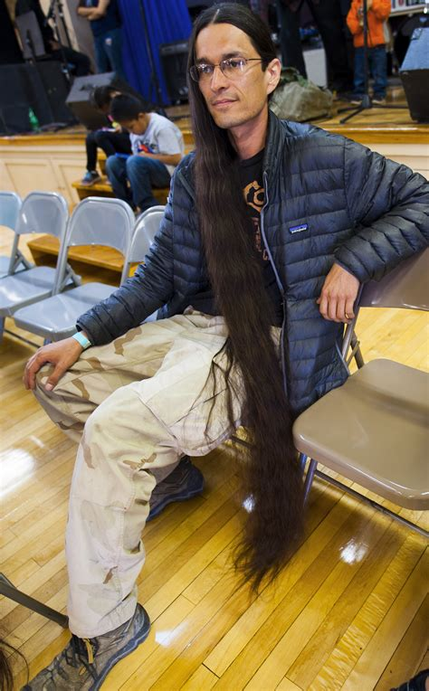 winslow elks hosts longest hair contest navajo hopi