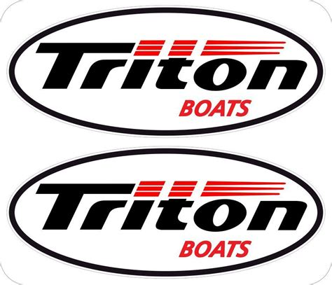 Triton Boats Logo by Triton Boats 2 6 Quot Window Decals Logo Emblem Sticker Free
