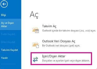 Office 365 Outlook Yedekleme e postanızı yedekleme outlook