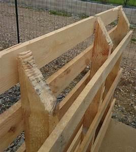 comment peindre des palettes en bois maison design With table de sciage maison 19 comment fabriquer un banc en bois bricobistro
