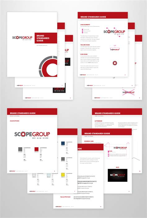 Design Guide by Brand Standards Guide Design Scope Corporate Id