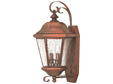 hinkley lighting clifton antique copper two light
