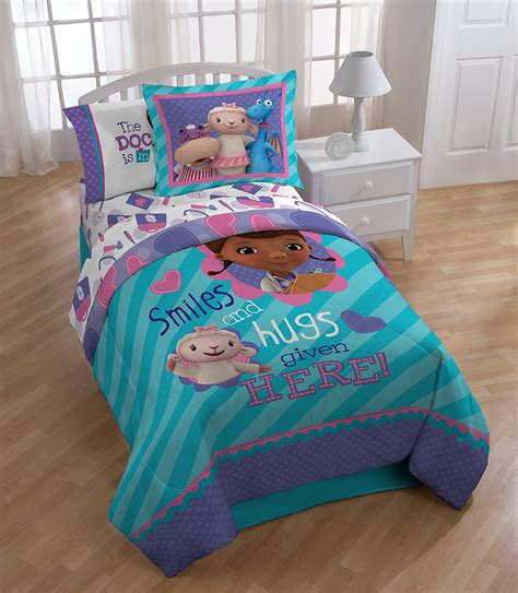doc mcstuffins toddler bed set doc mcstuffins bedding totally totally bedrooms