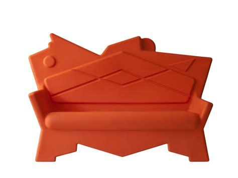 canapé plastique canapé 2 places en plastique écologique k2 canapé 2