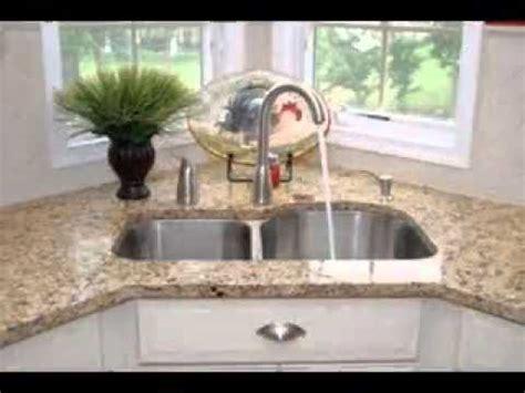 corner kitchen sink design ideas youtube