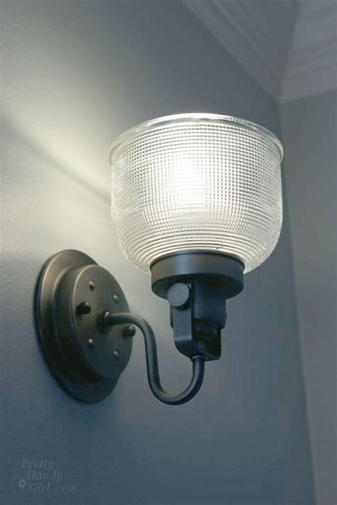 how to install a wall sconce light fixture for the home