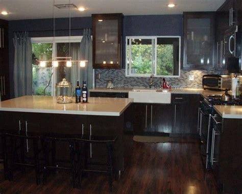Pictures Of Kitchens With Dark Cherry Cabinets, Floors