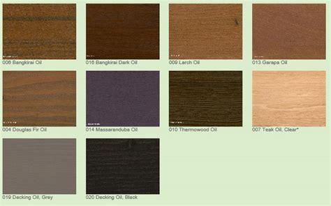 osmo decking oils choose colour