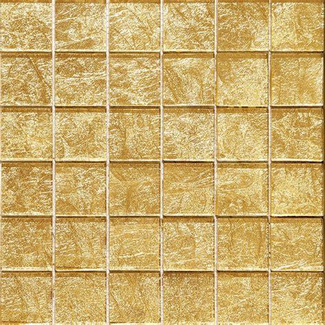 Glasmosaik Blattgold Mosaik Gold Fliesen 30x30 Cm