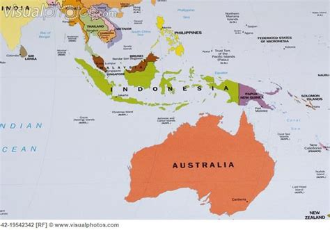 printable map indonesia  australia map  australia