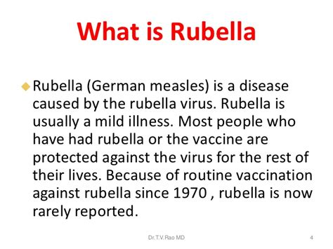 Measles and Mumps Symptoms