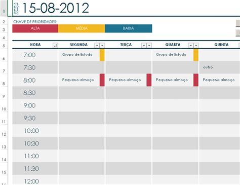 templates excel planeamento de tarefas agenda de tarefas office templates