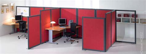 cloisonnette de bureau cloisons de sparations et cloisonnettes de bureaux sur