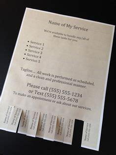 printable housekeeping flyer  flyer templates