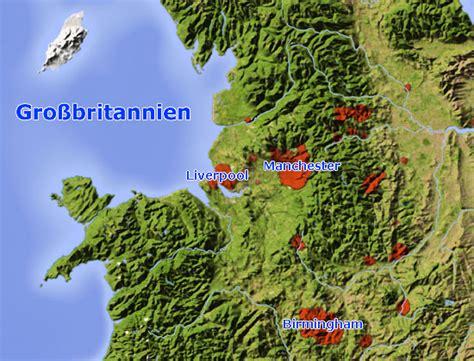 karte liverpool  grossbritannien landkarte und