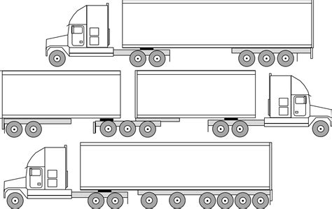 Truck Sizes by A Truck Dimensions Of A Truck