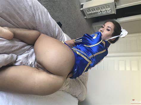 Falling Eva Lovia Chun Li Cosplay Fucking