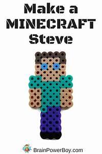 Minecraft Feuerwerk Bunt Machen : minecraft perler bead pattern steve b gelperlen bunt ~ Lizthompson.info Haus und Dekorationen
