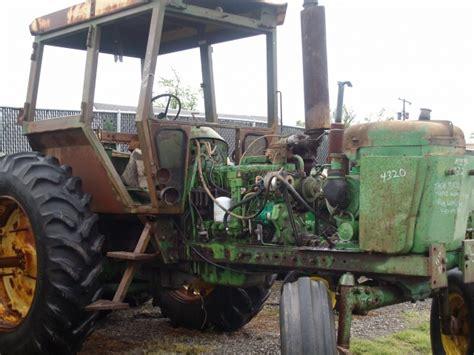 John Deere 4320 salvage tractor at Bootheel Tractor Parts