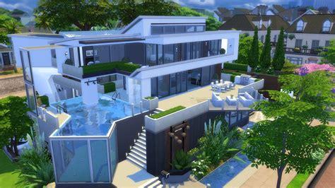 resultado de imagem   sims  modern house sims