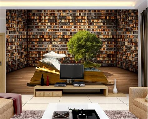 beibehang custom photo wallpaper  large mural book