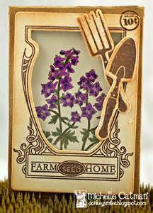 Vintage Seed Packets Stamps