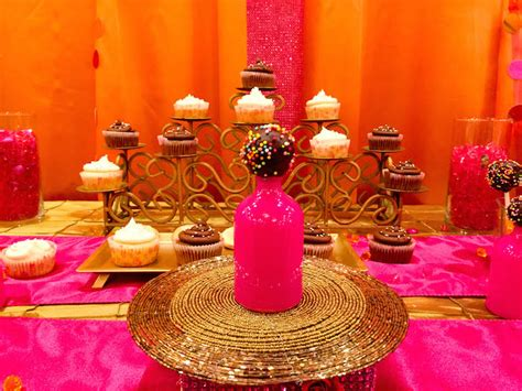 Kara's Party Ideas Royal Bollywood Themed 18th Birthday Party