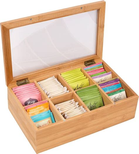 bamboo  section tea storage box manufacturers  suppliers china wholesale  factory