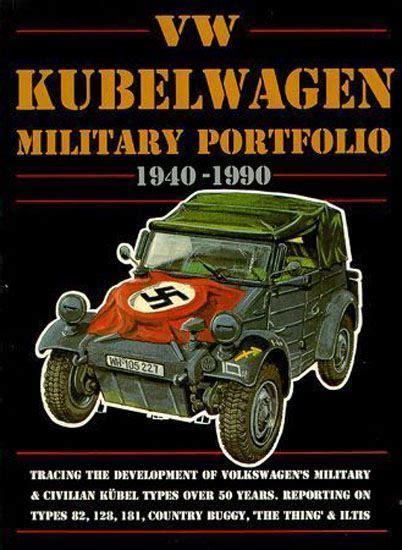 volkswagen vw kubelwagen military     book