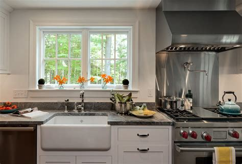 sink to range kitchen traditional with glass front cabinets kitchen ledge range
