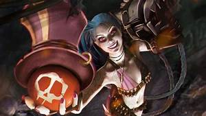 Jinx With Ziggs Bomb LoLWallpapers