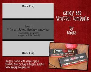 cookie nut creations valentine candy wrappers With valentine candy bar wrapper templates