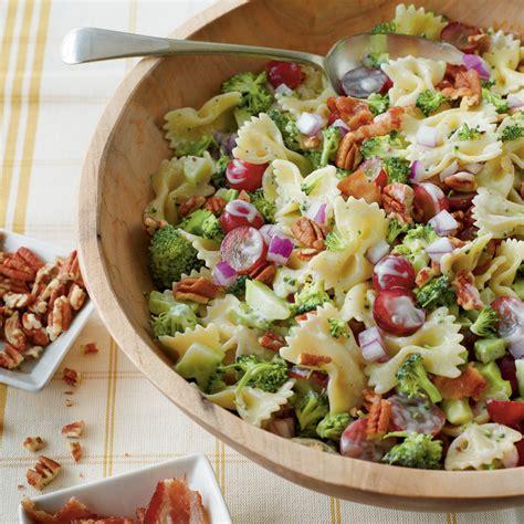 recipe for pasta salad broccoli grape and pasta salad recipe myrecipes