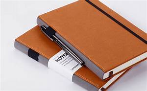 Amazon.com : Thick Classic Notebook with Pen Loop - Lemome ...