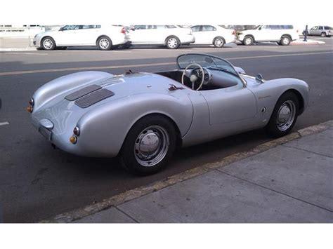 1955 Porsche 550 Spyder Replica For Sale
