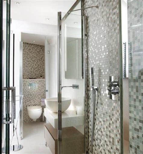 salle de bain mosaique blanche chaios
