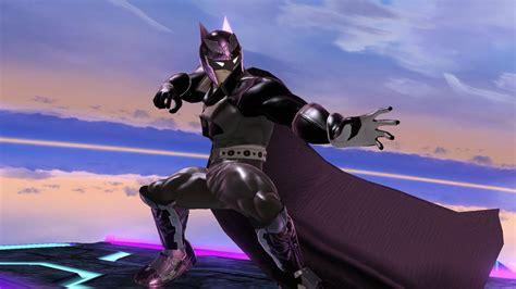batman captain falcon  super smash bros wii