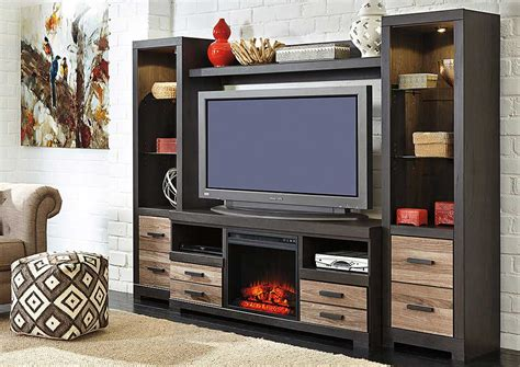 entertainment center with fireplace insert best buy furniture and mattress harlinton entertainment