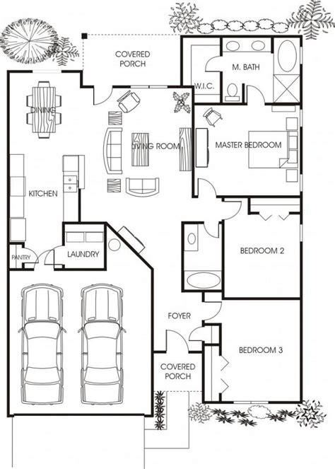 beautiful carport floor plans 1000 ideas about cottage floor plans on small
