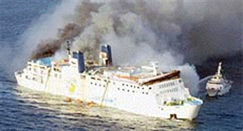Ferry Boat Bomb In Mexico by Cruise Ship Fires Passenger Ferry Fires Cruise Ship