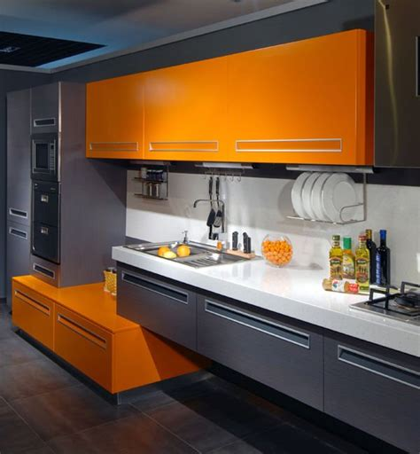 Flik By Design Dreaming Of An Orange Kitchen
