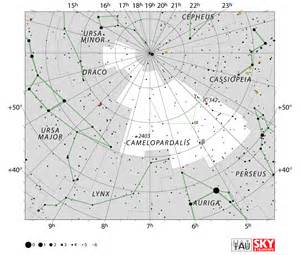 Where To See The Perseid Meteor Shower by Camelopardalis Constellation Facts Myth Star Map Major