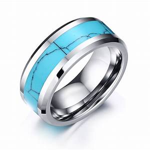 fashion mens tungsten carbide rings for men silver carbon With tungsten carbide wedding rings for men