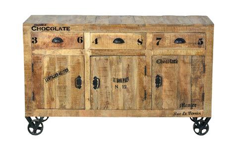 Möbel Industrie Look by Industrial M 246 Bel Sideboard Kommode Aus Massivholz