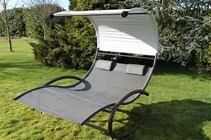 Fauteuil Jardin Suspendu : chaise longue suspendue et fauteuil relax ~ Teatrodelosmanantiales.com Idées de Décoration