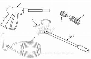 Campbell Hausfeld Pw1676 Parts Diagram For Gun  Hose Parts