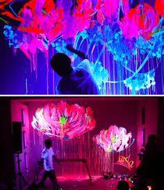 1000 images about Neon Paint on Pinterest