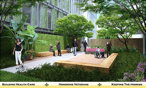 rehabilitation transitional courtyard southeast louisiana veterans health care system